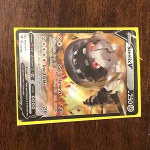 Steelix v Pokémon card